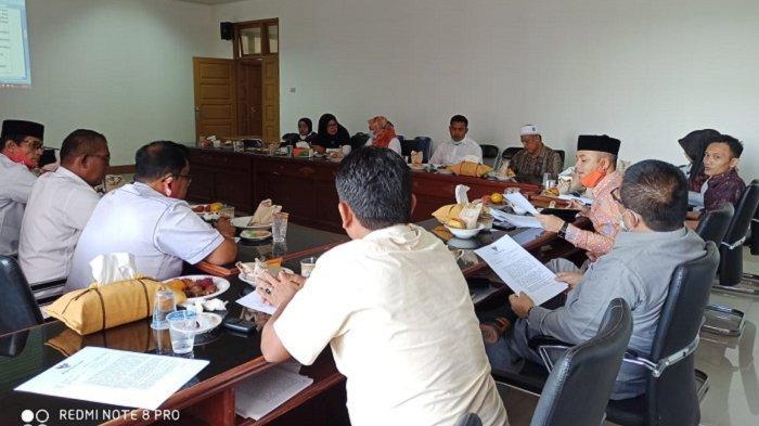Banleg DPRK Pidie Jaya Tetapkan Sembilan Raqan, Ini Raqan yang Masuk Proleg 2021