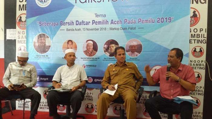 JaDI Harap Daftar Pemilih Aceh Akurat