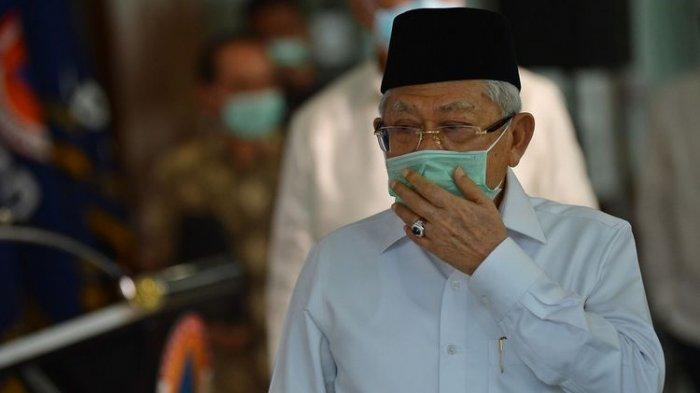 Wakil Presiden Ma'ruf Amin Minta Masyarakat Shalat Idul Fitri di Rumah