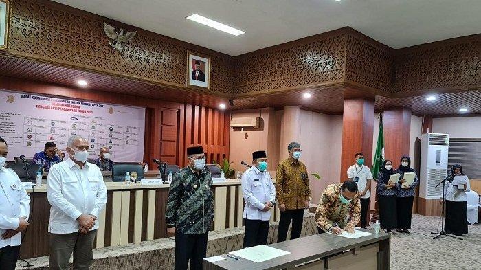 Pemko Langsa dan BPKPP Perwakilan Aceh Teken MoU Tentang Pengawasan Penyelenggaraan Pemerintahan