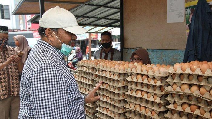 Wakil Walikota Lhokseumawe Sidak Pasar, Ini Dua Komunitas Barang yang Mengalami Kenaikan Harga