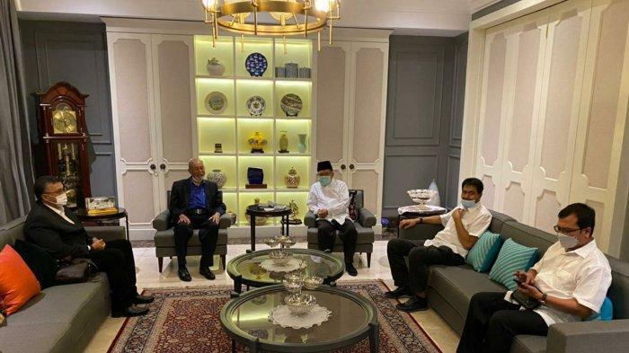 Bahas Politik di Aceh, Wali Nanggroe dan Mualem Jumpai Jusuf Kalla