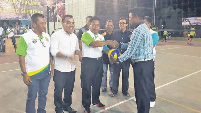 Malam Ini Final Turnamen Bola Voli HUT Banda Aceh
