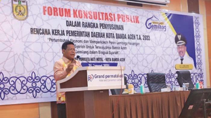 Wali Kota Buka Forum Konsultasi Publik RKP TA 2022