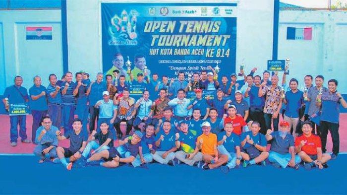 Telkom Medan Juara Tenis HUT Banda Aceh