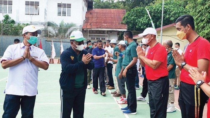 Aminullah Antar Baveti Aceh Juara Tenis Beregu di Langsa