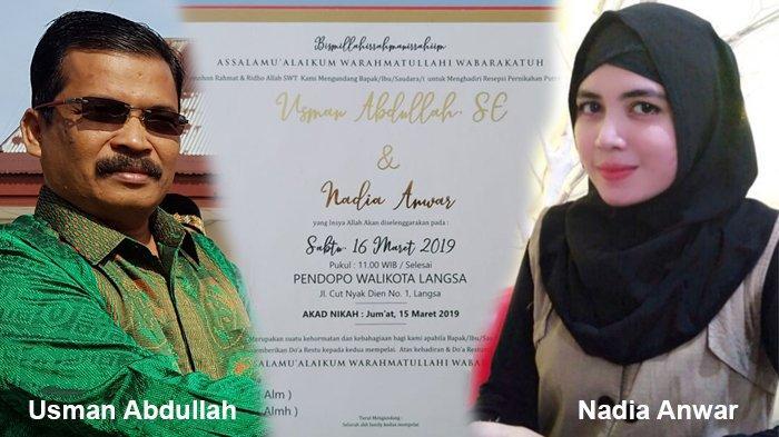 Nadia Anwar, Wanita Cantik Calon Istri Wali Kota Langsa Ternyata Anak Mantan Petinggi GAM