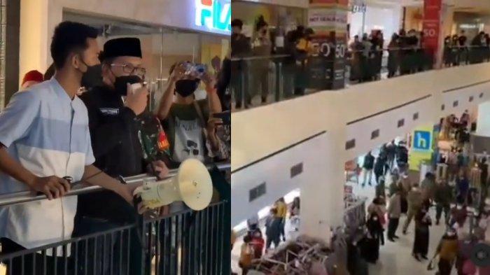 Sengaja Lakukan Sidak, Wali Kota Makassar Ngamuk Lihat Kerumunan Pengunjung di Mall, Aksinya Viral