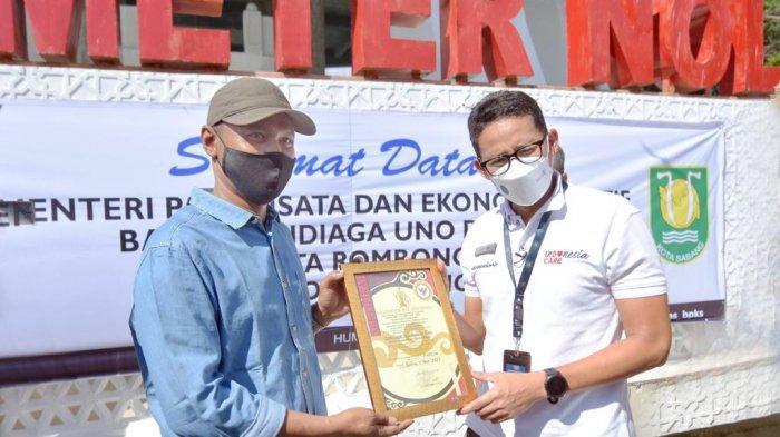 Menparekraf Sandiaga Uno Janji Aktifkan Lagi Jalur Penerbangan ke Sabang