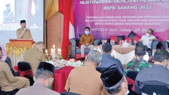 Pemerintah Kota Sabang Gelar Musrenbang Tahun 2022