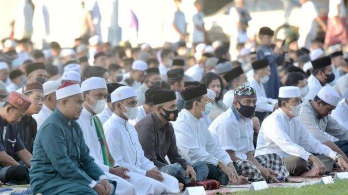 Wali Kota Sabang Shalat Idul Fitri 1442 Hijriah di Lapangan Yos Sudarso