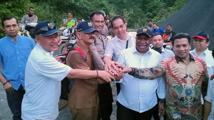 Ke Makam Cut Meutia, Wamen PUPR Bersama HRD dan Bupati Aceh Utara Naik Trail
