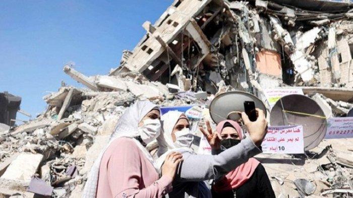 AS akan Bangun Kembali Gaza, Hamas Janji Takkan Sentuh Bantuan Internasional Satu Sen Pun