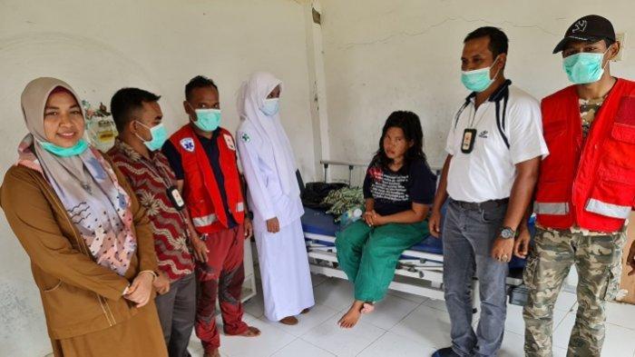 Relawan PMI Pijay Rawat Warga Sumut