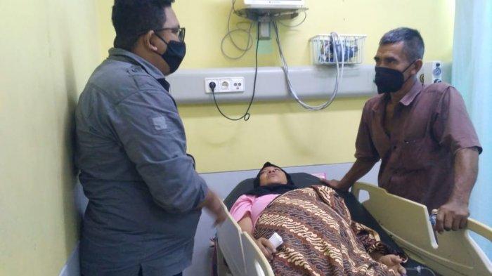 SPMA Salurkan Bantuan Kepada Pasien Tumor di Aceh Selatan