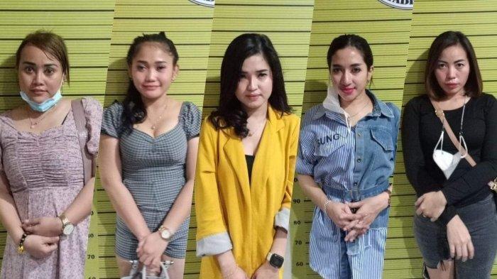 Inilah 5 Wanita Cantik Dibooking Sekda Nias Utara, Diamankan saat Pesta Narkoba