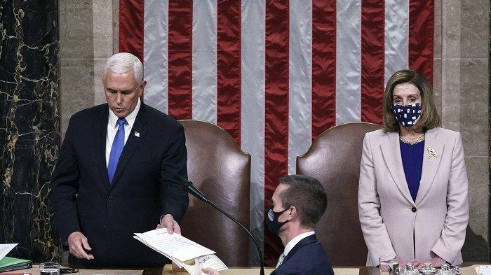 Kongres Akhirnya Mengesahkan Kemenangan Joe Biden Atas Donald Trump