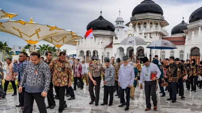 MPU: Keindahan Masjid Raya Perlu di Jaga dengan Baik