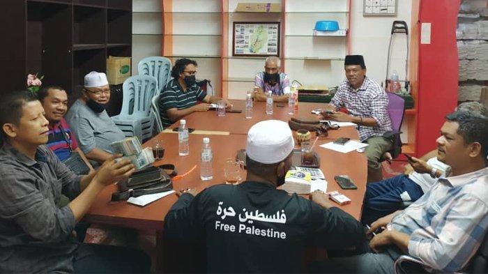 Warga Aceh di Malaysia Kumpulkan Sumbangan RM 85.000 untuk Palestina dan RM 4.788 untuk Kebajikan