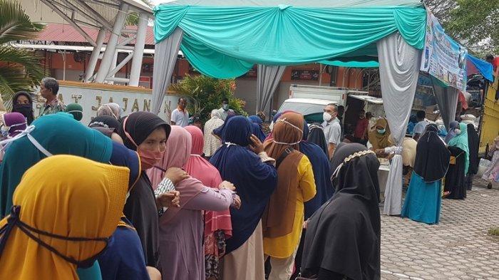 Hari Kedua Pasar Murah di Langsa Diserbu Pembeli, Besok di Langsa Barat, Lusa di Pasar Langsa Baro