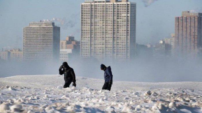 Suhu Minus 52 Derajat Bekukan Amerika Serikat, Korban Tewas Bertambah Jadi 10 Orang