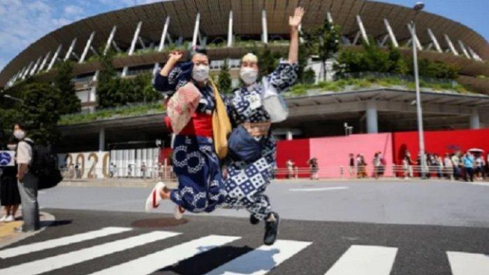 Olimpiade Tokyo Picu Ledakan Kasus Virus Corona di Jepang, Catat 9.000 Lebih Kasus Harian
