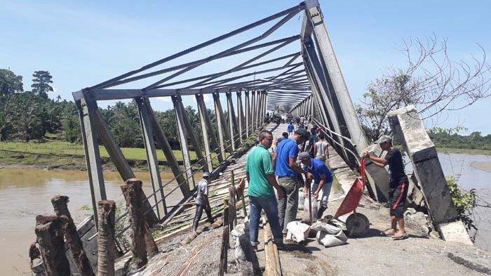 Jembatan Ulee Raket Dikerjakan Juli