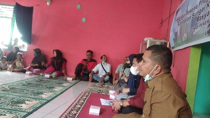 250 KK di Bantaran Krueng Langsa Dipindah ke Timbang, Dapat Rumah Tipe 36 Bersertifikat Khusus