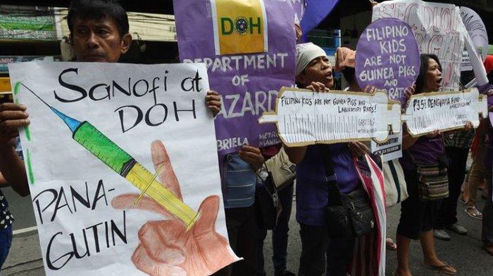 Kematian 14 Anak Diduga Terkait Vaksin DBD, Pemerintah Filipina Lakukan Penyelidikan