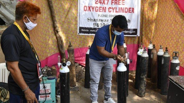 Pasien Covid-19 Kesulitan Oksigen, Ternyata Anggaran Sektor Kesehatan di India Hanya 1 Persen