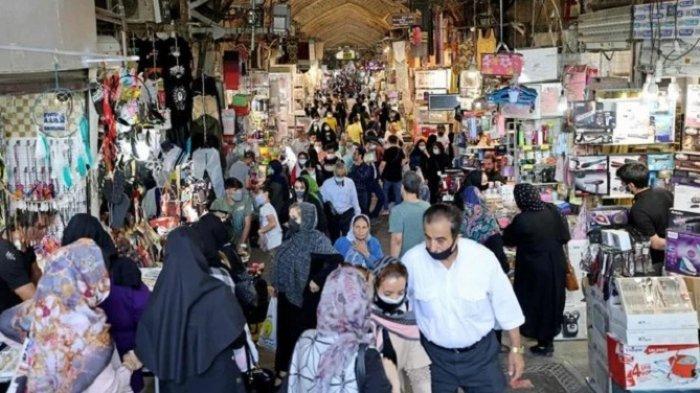 Kasus Covid-19 Iran Melampaui Tiga Juta Orang, Usai Liburan Tahun Baru Persia