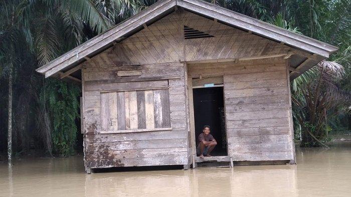 Curah Hujan Tinggi, Sebagian Kawasan Aceh Tamiang Kembali Banjir