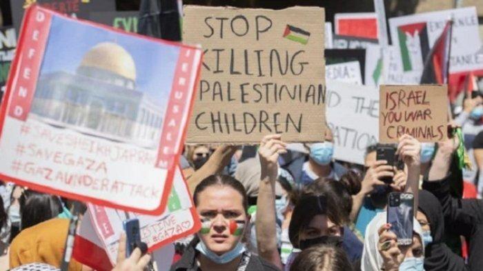 Demonstran Pro-Palestina dan Israel Bentrok di Montreal, PM Kanada Sebut Retorika Tercela