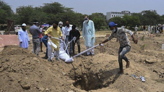 Kasus Virus Corona India Terus Meledak, 362.757 Kasus Baru Ditemukan dan 3.293 Kematian Dalam Sehari