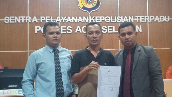 Tanda Tangannya Dipalsukan, Warga Lapor Keuchik ke Polres Aceh Selatan, Begini Kata Keuchik