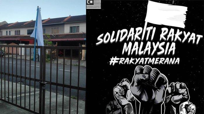 Polisi Pahang Klarifikasi Soal Penurunan Bendera Putih di Kuantan, Karena Digantung di Tiang Listrik