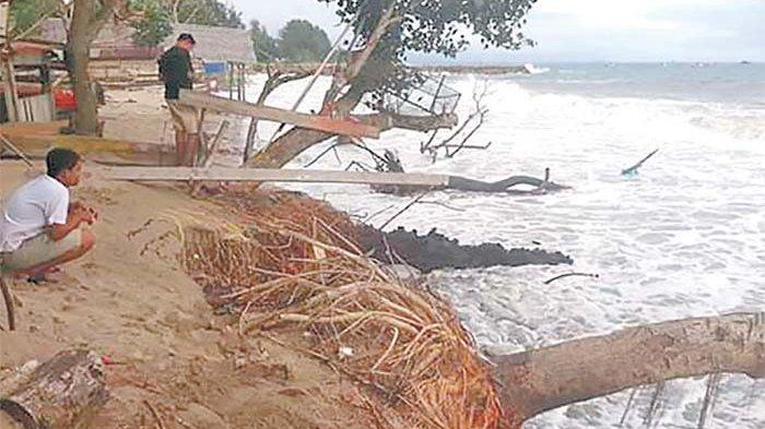 Abrasi Pantai Ulim Makin Parah