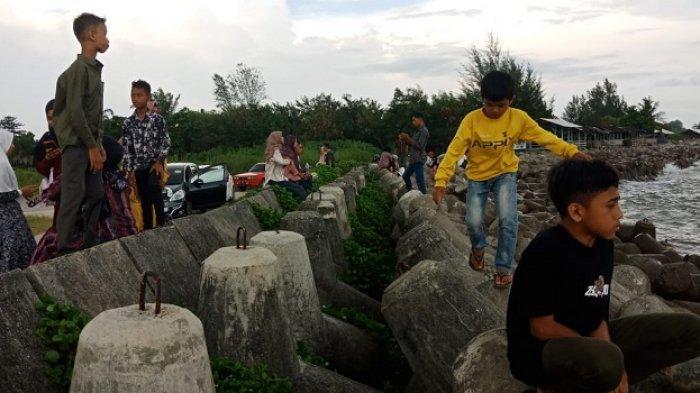 Kecelakaan Laut di Pantai Barat Selatan Nihil, Pengunjung Padati Sejumlah Lokasi Wisata