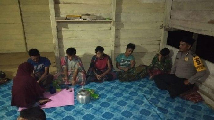 Tersesat di Hutan, Lima Pencari Getah Damar asal Gampong Rampah Serbajadi Ditemukan Selamat