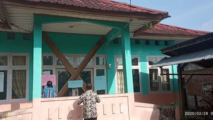 Diduga Gara-Gara Dana Desa, Warga di Simuelue Palang Dua Kantor Desa