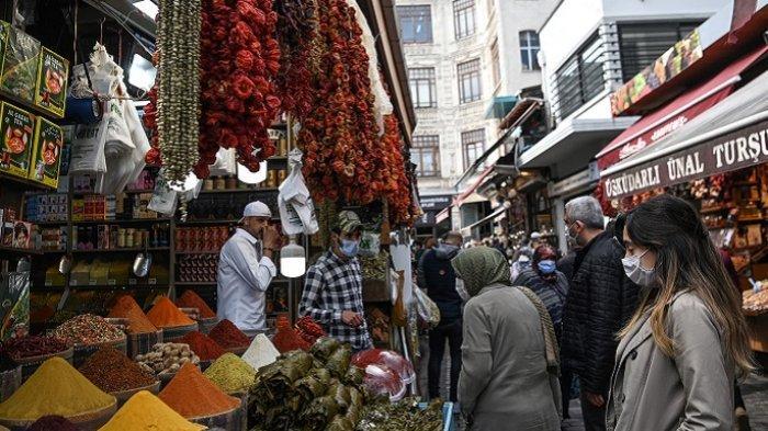 Turki Berlakukan Lockdown 21 Hari, Pusat Bisnis Ditutup, Cegah Kasus Virus Corona Meledak