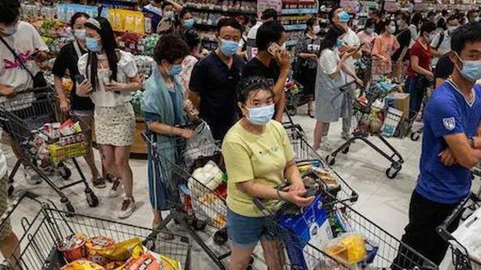 Kasus Covid-19 Meningkat lagi, Warga Wuhan Terancam Lockdown Lagi Hingga Terjadi 'Panic Buying'