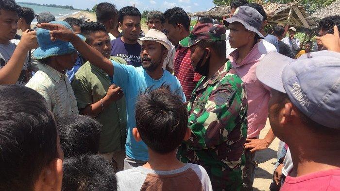 Tangis dan Protes Warga Aceh Utara Kala Kapal Imigran Rohingya Ditarik Menjauh dari Tepi Pantai