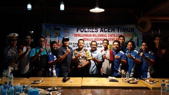 Kapolres Aceh Timur: Wartawan dan Polisi Saling Membutuhkan dalam Menjaga Kamtibmas