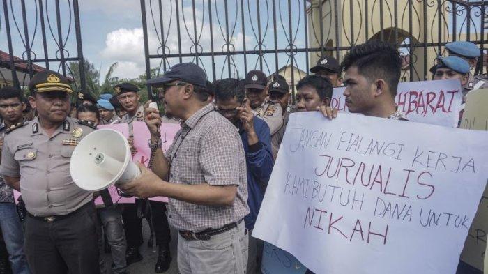 Pengusaha dan Polisi Hormatilah Kebebasan Pers