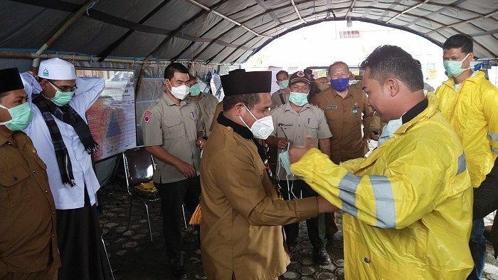 Wartawan Liputan di Kabupaten Bener Meriah Terima Bantuan APD