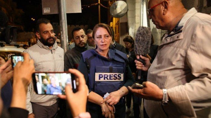 Wartawan Wanita Al Jazeera Dilarang Masuk Sheikh Jarrah di Jerusalem Timur