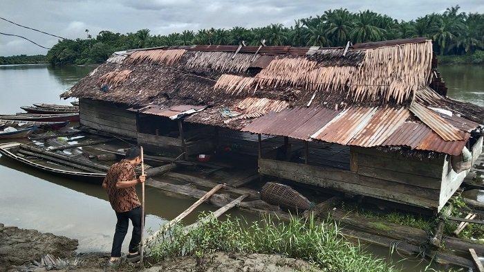 Lampung Pelabuhan Terapung Sungai Sisa Peradaban Singkil Masa Lalu