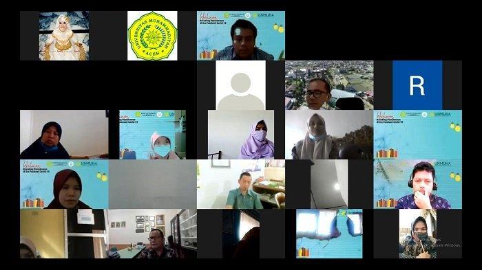 Unmuha Aceh Selenggarakan Webinar Branding Pustakawan di Era Pandemi Covid-19, Diikuti 250 Peserta