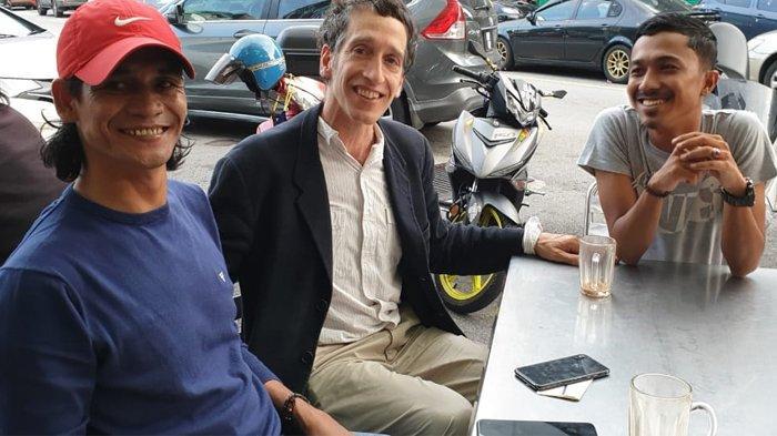 Bertemu Mantan Kombatan GAM, William Nessen Menangis Karena Rindu Aceh